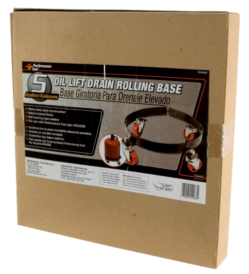 Performance Tool W54283 Rolling Base for Lift Drain